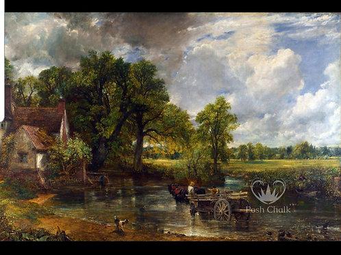 Tynne rispapir,  cottage cart,  WB