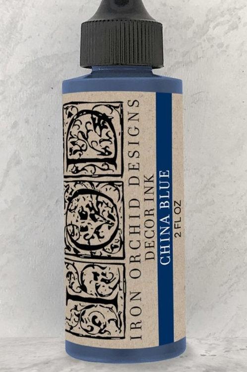 Maling mørk blå, stamp