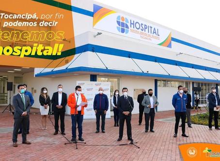 Tocancipá tiene nuevo hospital para enfrentar la pandemia