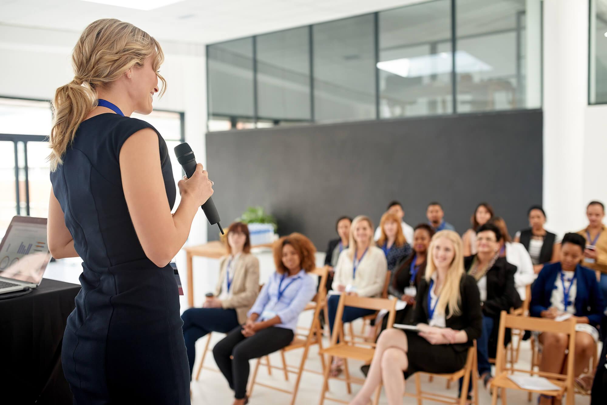 Мастерство проводить презентации