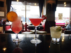 Wide selection of Cocktails