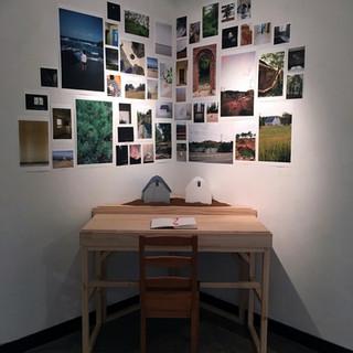 An Artist's Study Desk