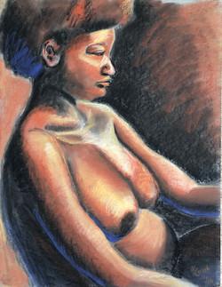 Profile of Woman