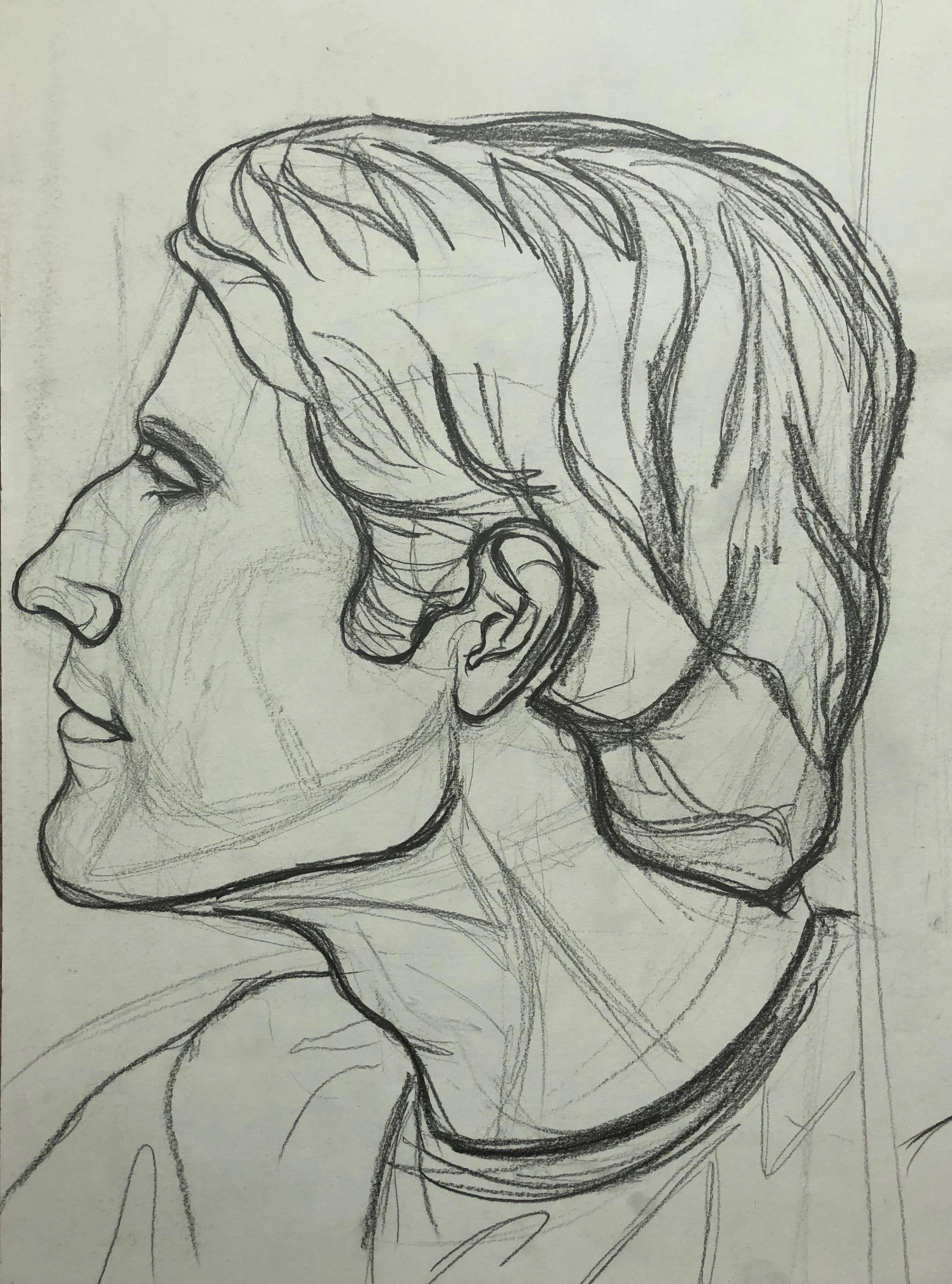Profile Man's Face