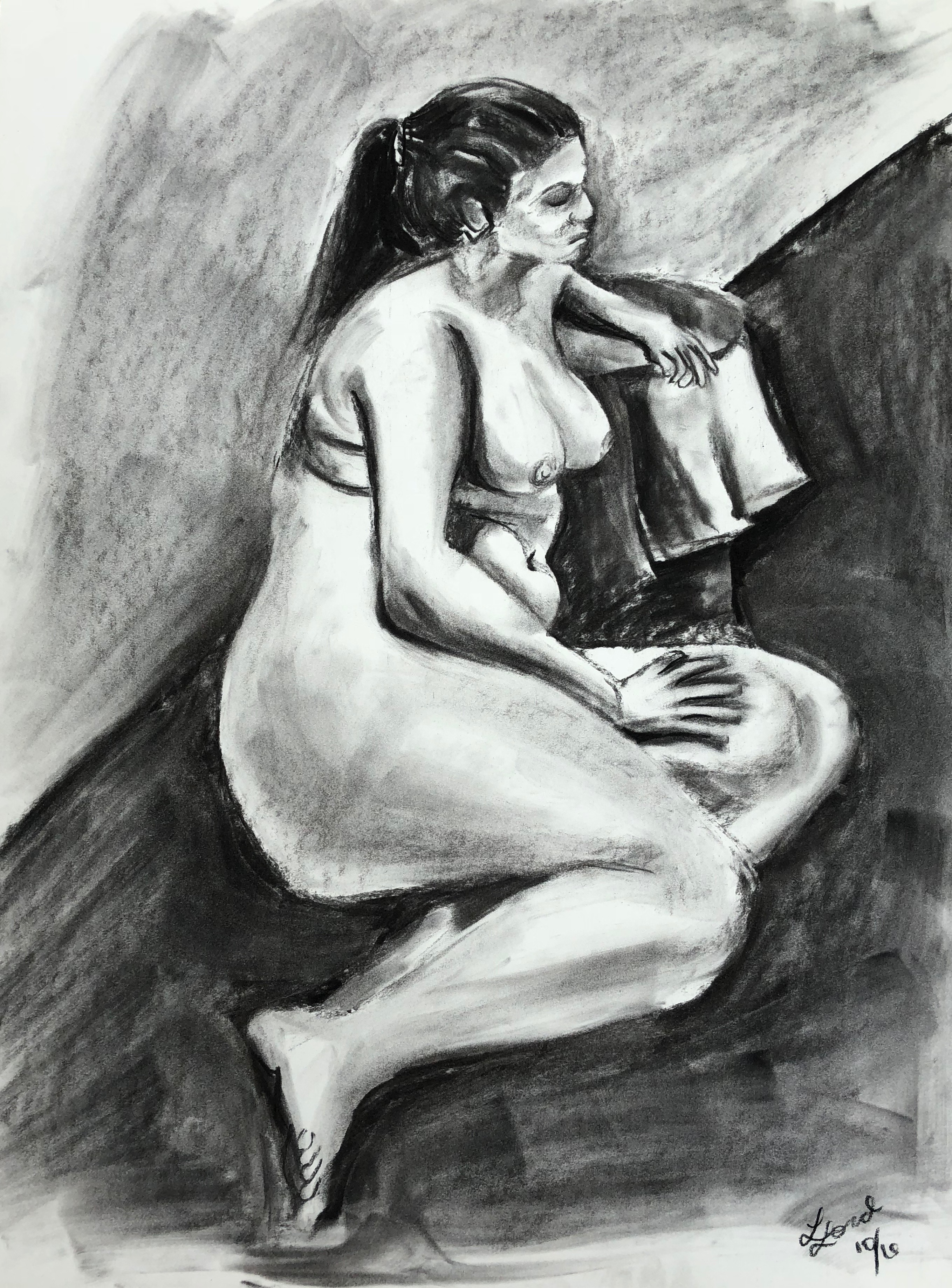 Leaning Woman