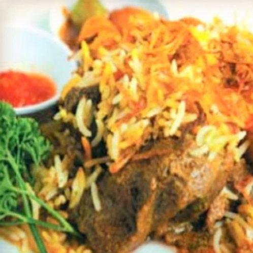 Nasi Bariani Gam Daging (Individually packed)