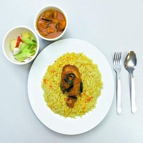 Nasi Briyani Ayam Set