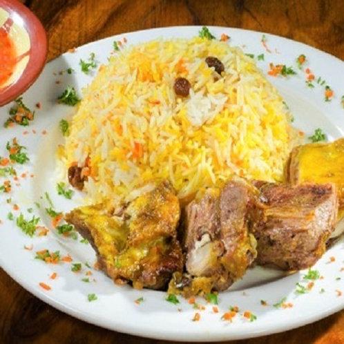 Roast Lamb & Chicken Set Menu 100 Pax