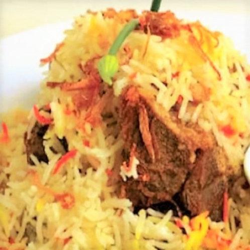 Nasi Bariani Kambing (Individually packed)
