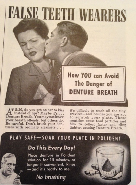 Denture breath, Oh no!