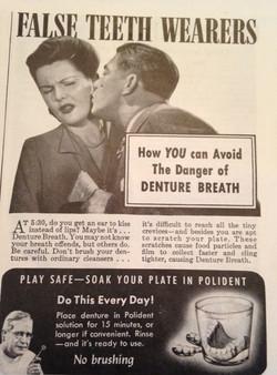 Denture breath, Oh no!