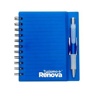 Caderno personalizado RENOVA TURISMO  R$17,50