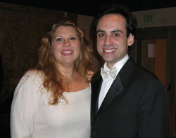 with Conductor Carmine Alfiero