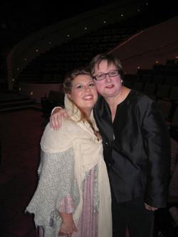 with Director Wendy Taucher