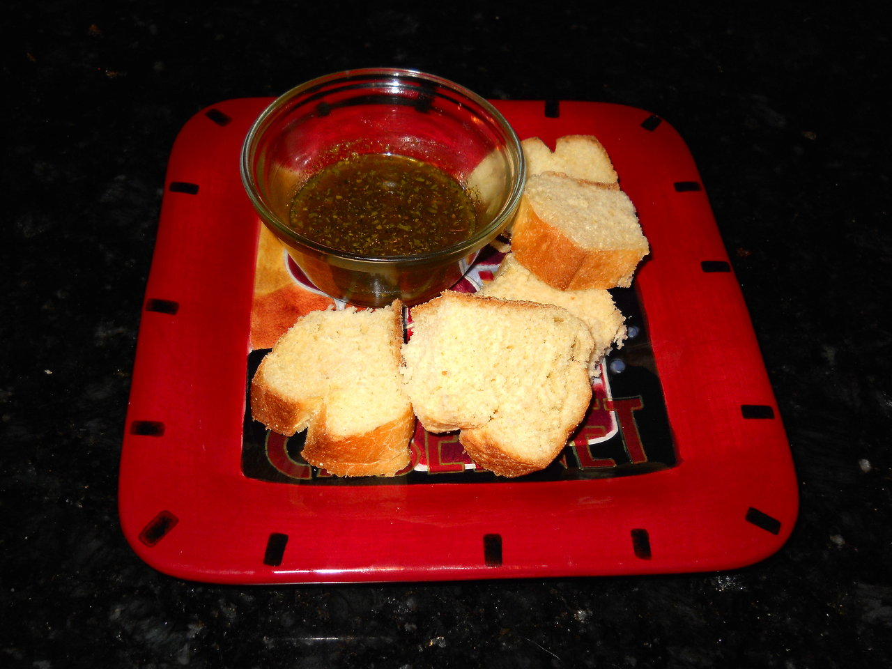 Dipping Oil with Vinegar