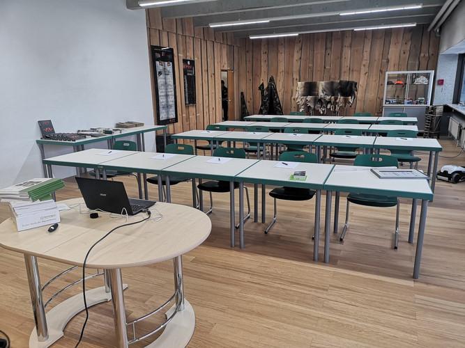 Unterrichtsraum Jagdschule