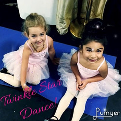 Our Twinkle Stars love their pink tutus! Come to a free Twinkle Star class for our Sparkle Days on S