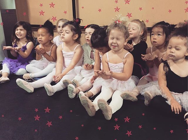 We love getting Pixie Dust at the end of our Twinkle Star classes! It makes our dancing experience m