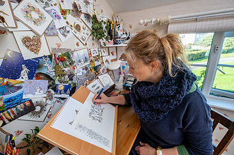 Peter photo sarah drawing close up.jpg