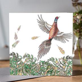 549 Woodland Pheasant flying.jpg