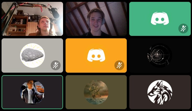 Science team meeting held on Discord on the 27/04/2020
