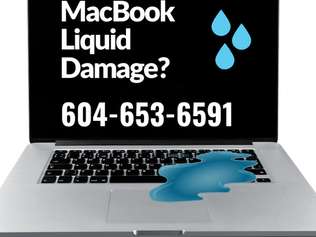 What happens inside my MacBook after water damage occurs? Vancouver 2021