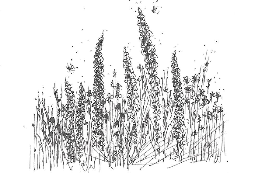 Card 'Cottage Garden'