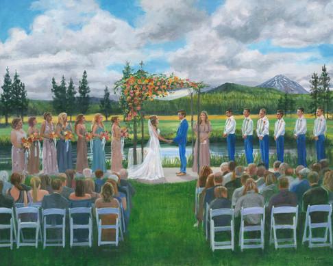 Live-Wedding-Art-Artist-Karen-Eland-Sunr