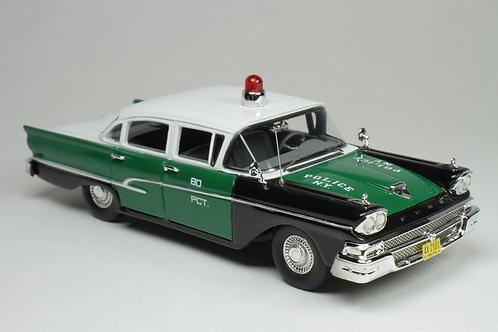 GC-NYPD-003 1958 FORD CUSTOM 300 NEW YORK POLICE CAR