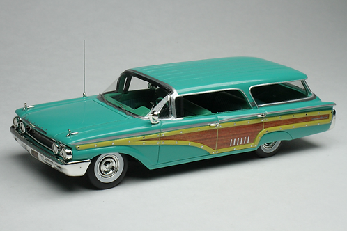 GC-016 A 1960 Mercury Colony Park Crystal Turquoise