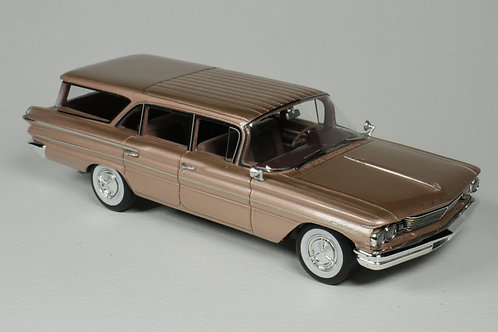 GC-041 B 1960 Pontiac Safari Color Sierra Copper Poly