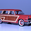 Thumbnail: GC-006 B 1953 FORD COUNTRY SQUIRE Flamingo Red