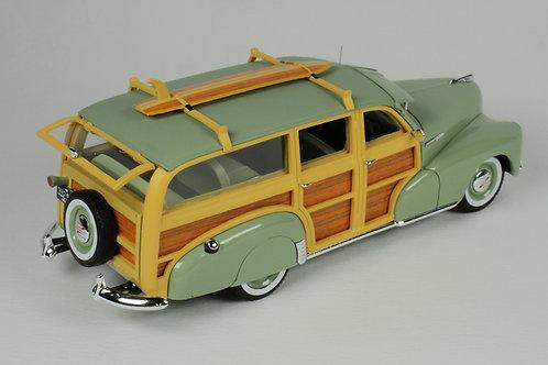 GC-045 B 1948 Chevrolet Fleetmaster Woodie Satin Green
