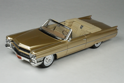 GC-035 A 1964 Cadillac Coupe De Ville Firemist Saddle.
