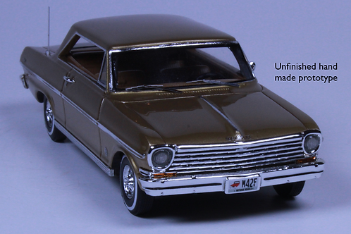 GC-018 B 1963 CHEVY NOVA Saddle Tan Poly