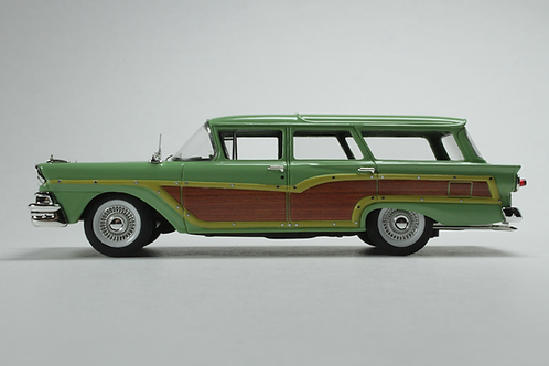 "GC-014 B 1958 FORD COUNTRY SQUIRE Seaspray Green ""Vote for Kennedy"""