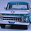 Thumbnail: GC-004 A.1965 FORD F-100 Pick Up Tropical Turquoise.