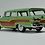 "Thumbnail: GC-014 B 1958 FORD COUNTRY SQUIRE Seaspray Green ""Vote for Kennedy"""