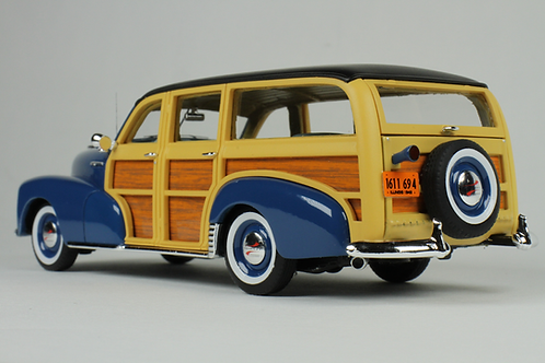 copy of GC-045 A 1948 Chevrolet Fleetmaster Woodie Cuomo Blue