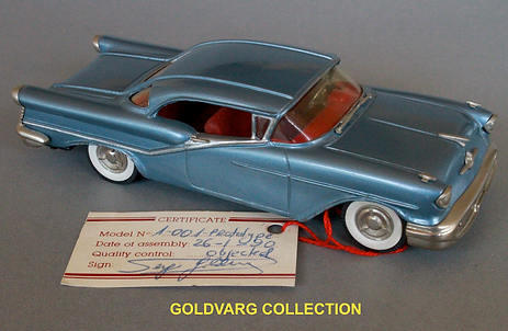 Oldsmobile 1957 scale 1/43 from Goldvarg Collection Scale Model Cars