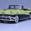 Thumbnail: GC-002 B  1956 MERCURY MONTCLAIR  Zaffron Yellow-Tuxedo Black