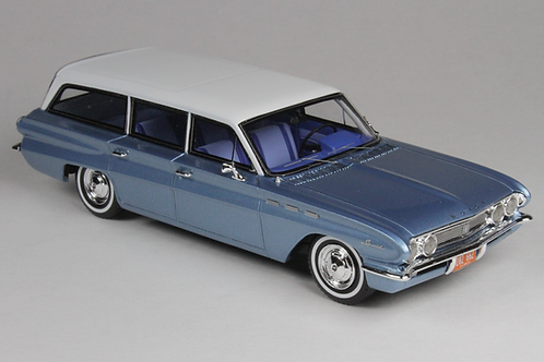 GC-019 B 1962 BUICK SPECIAL Station Wagon Marlin Blue