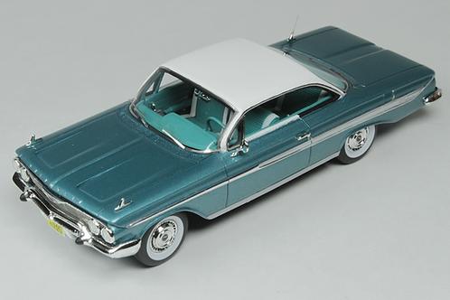 GC-011 A 1961 CHEVROLET IMPALA Turquoise Metallic