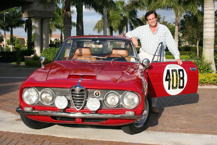 Asi se encuentra hoy el Alfa Romeo 2600 Sprint GP 1963.