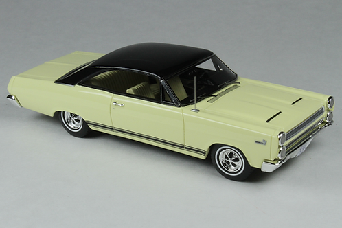 GC-022 A 1966 Mercury Comet Cyclone Jamaican Yellow