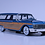 Thumbnail: GC-003 B  1961 FORD COUNTRY SQUIRE Metallic Blue. SOLD OUT