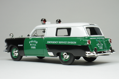 "GC-NYPD-002 1953 Ford Courier New York ""Emergency Service Division""."