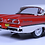 Thumbnail: GC-001A.  1958 FORD FAIRLANE 500 Torch Red- Colonial white.