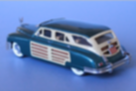 Packard Woodie 1950 from Goldvarg Collection Scale Model Cars in 1/43.