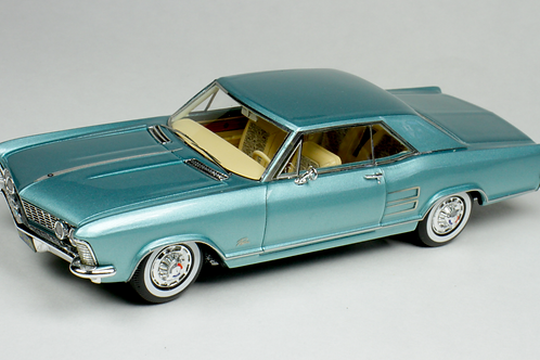 GC-046 A 1963 Buick Riviera Teal Mist Poly